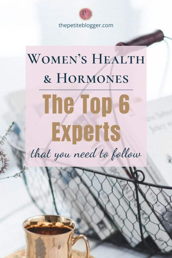 The top experts on women's health