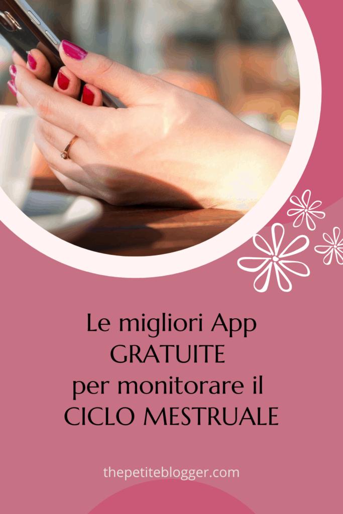 app gratuite per ciclo mestruale
